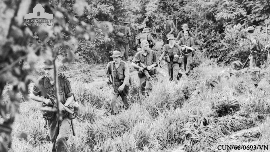 The Australian Army in action in Vietnam1966