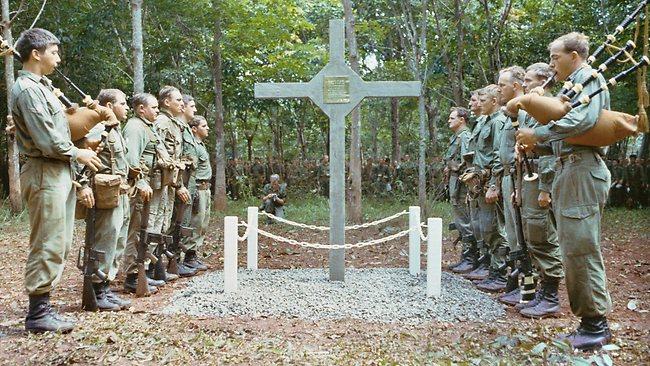 The Long Tan Memorialcross