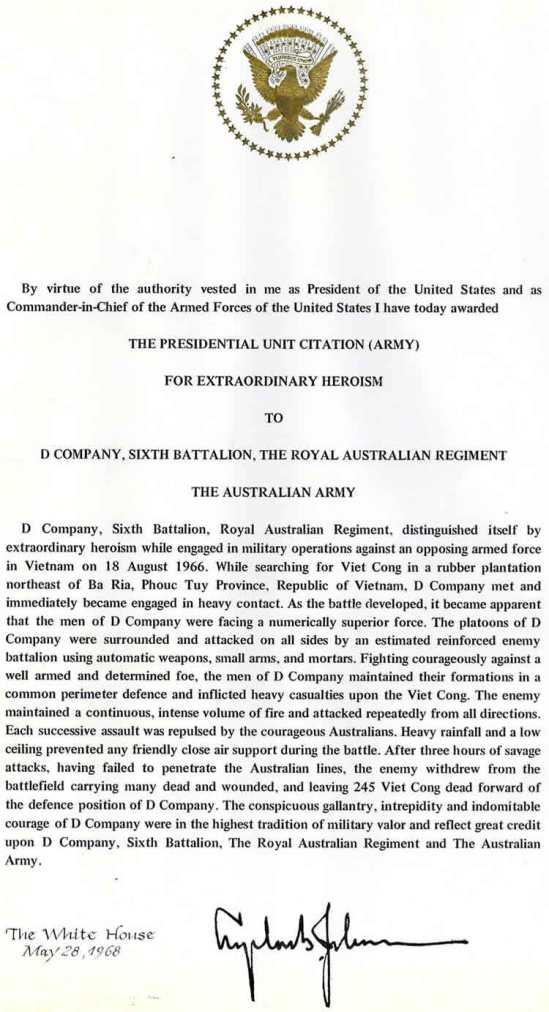 Presidential Unit Citation