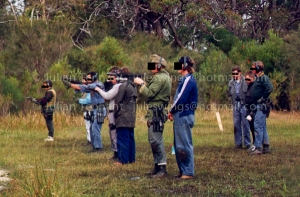 Throwing a few downrange in the mid 90's.