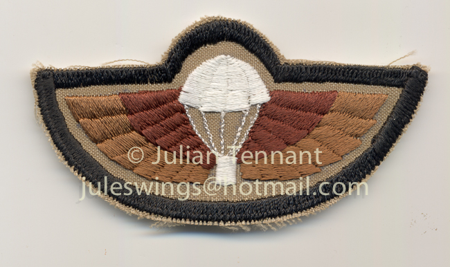 Wings made for A troop 1 SAS sqn in Kuwait 1998