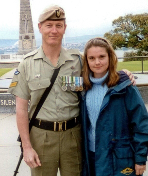 Andy and Kylie Russell at Kings Park.