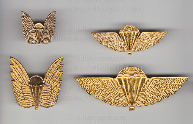 RAN Parachutist wings