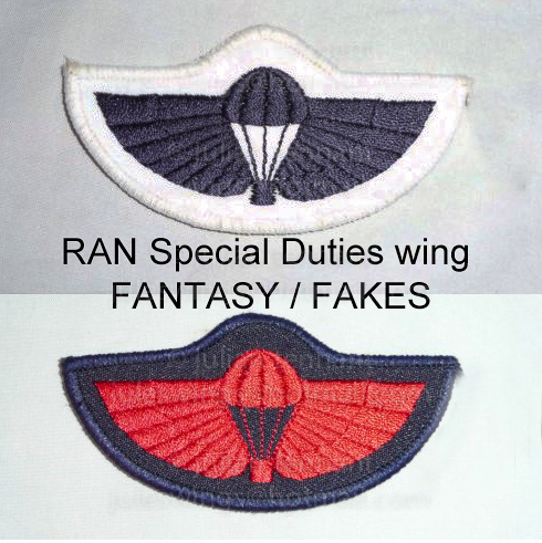 Fake RAN Special Duties wings
