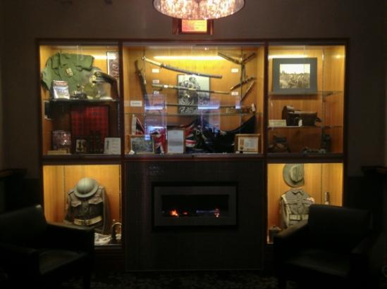"""Bull"" Allen bar of the Ballarat RSL"