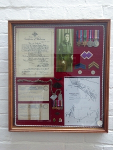 Items belonging to VX77784, L/Sgt Geoffery Ronald Cook of the 2/