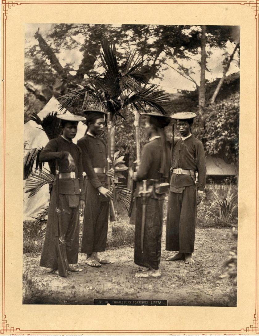 No.16 Tirailleurs Tonkinois (Lintap) circa 1885
