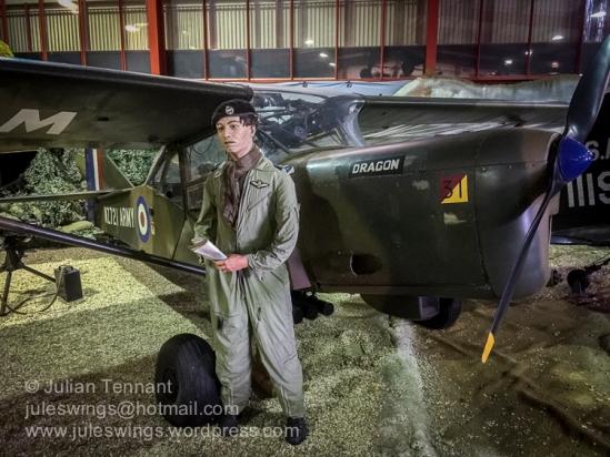 Post war AOP pilot