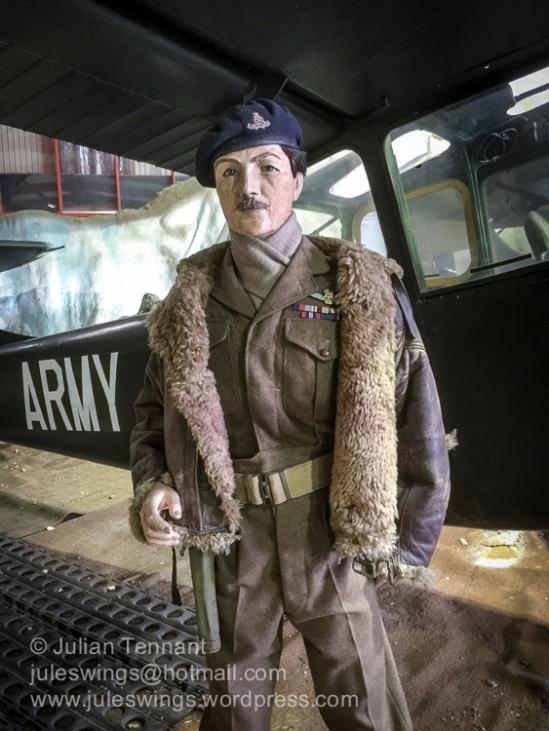Post WW2 AOP Squadron pilot.