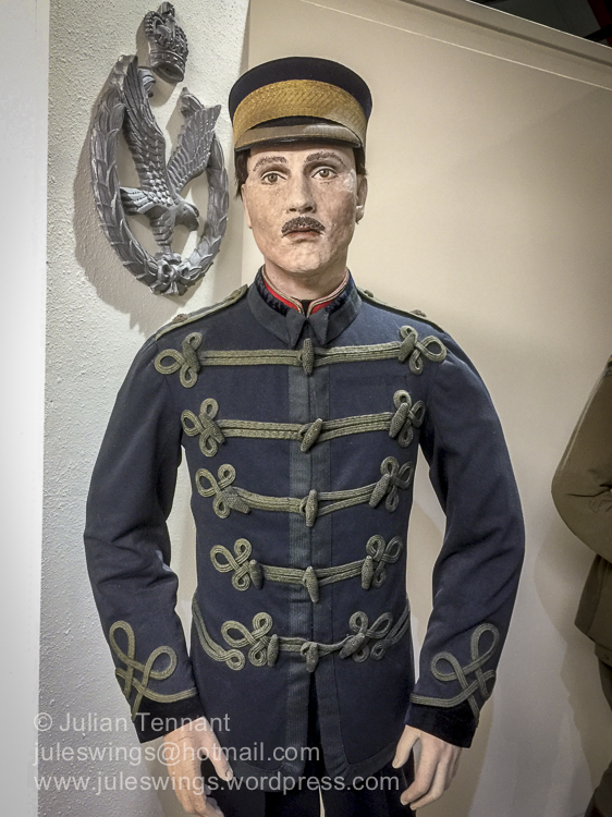 Uniform worn by the Royal Engineers Balloon Section