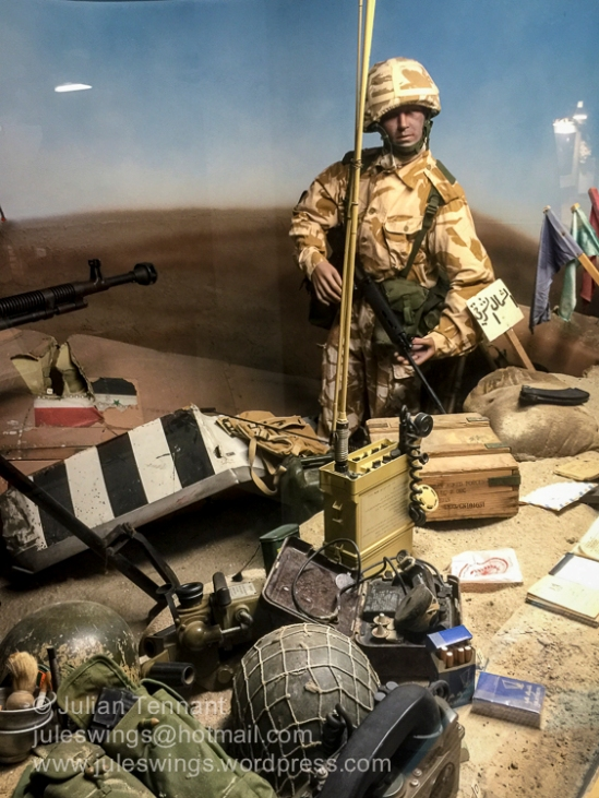 Iraq 2003 display.