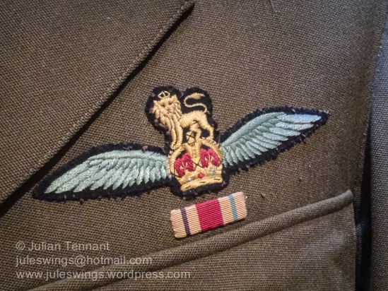 WW2 period Army Flying Badge