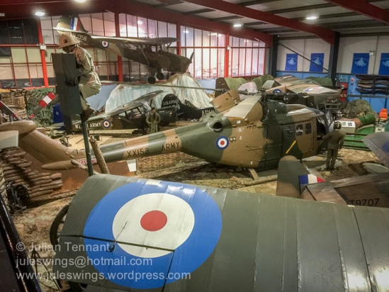 Aircraft Hall at the Museum of Army Flying, Middle Wallop