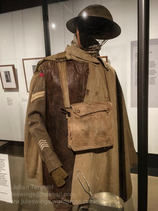 Australian uniform as worn on the Western Front circa 1917.