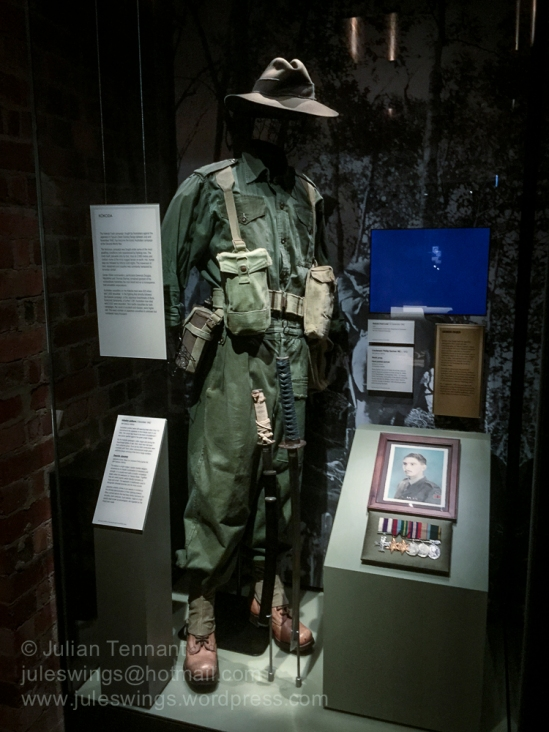 Australian Kokoda / New Guinea display in the Second World War G