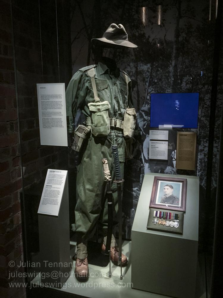 Australian Kokoda / New Guinea display in the Second World War G