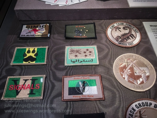 Australian patches related to Iraq 2003 - 2008.