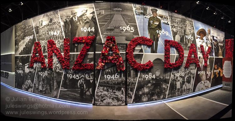 Spirit of ANZAC Centenary exchibition. Perth 2016