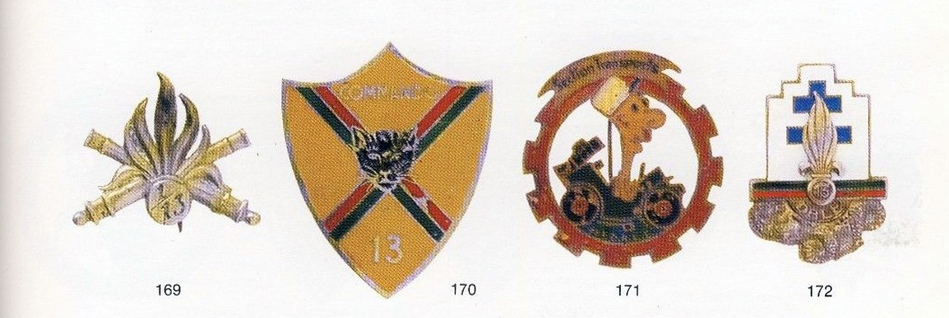 REFERENCE BOOK: Badges of the French Foreign Legion 1923-1989 by PhilippeBartlett