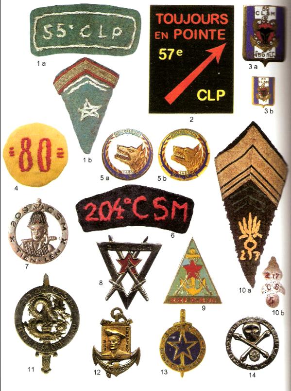 COMMANDOS ET FORCES SUPPLETIVES INDOCHINE 1945-1954