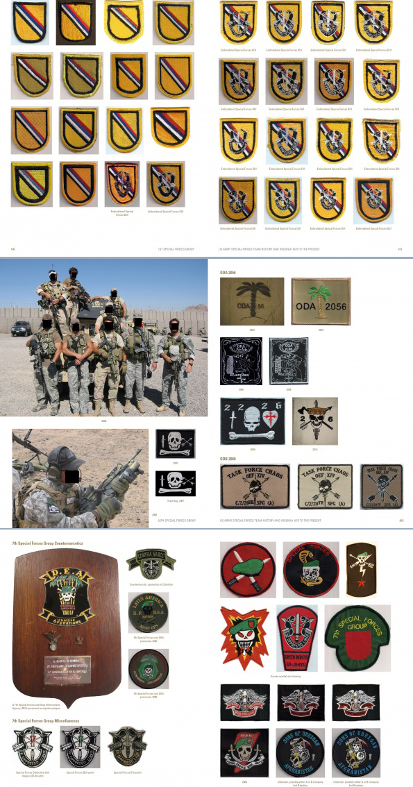 REFERENCE BOOK: US Army Special Forces Team History and Insignia 1975 to the Present by GaryPerkowski