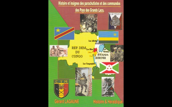 Histoire et insignes des parachutistes et des commandos de Pays