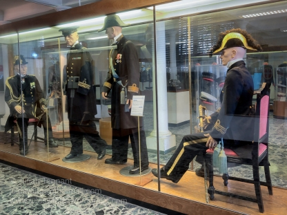 Some of the uniforms worn my naval personnel of the Venetian, Italian and allied naval units.