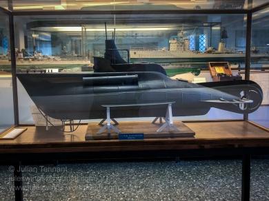 Model of a CB type Coastal Submarine (1940 – 1945)