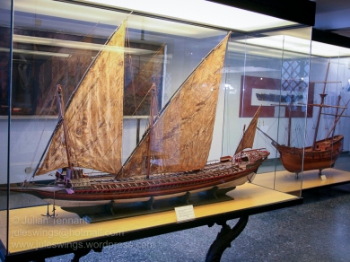 Model of a heavy galley of the 17th century that belonged to the Order of Santo Sefano in Tuscany.