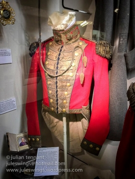 Jacket worn by Field Marshal Arthur Duke of Wellington KG, two days before the Battle of Waterloo.