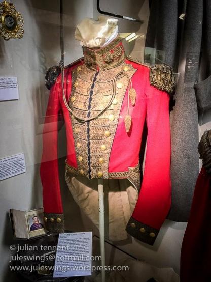 Jacket worn by Field Marshal Arthur Duke of Wellington KG, two days before the Battle of Waterloo.