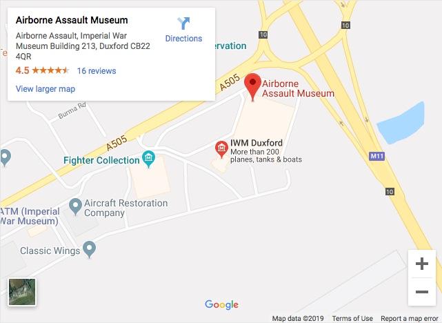 Airborne Assault Duxford map