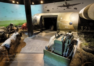 Entry to the Airborne Experience at the Airborne Museum Hartenstein Photo: Julian Tennant