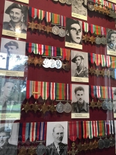 The museum also features a large display of medals which have been donated by veterans of Operation Market Garden.