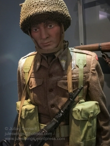 Paratrooper of the Polish 1st Independent Parachute Brigade. Photo: Julian Tennant