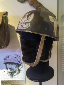 Polish parachutist helmet. Photo: Julian Tennant
