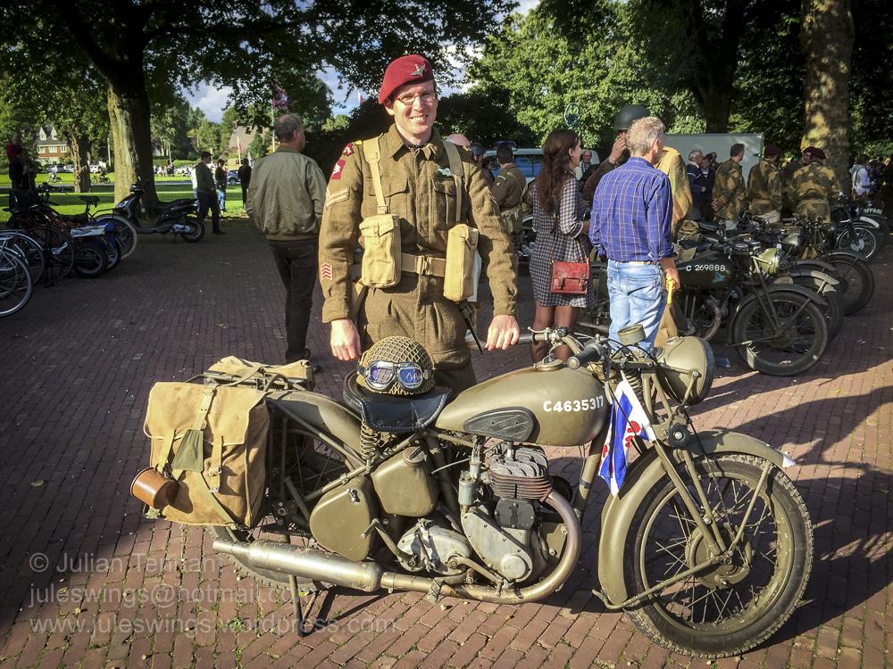 airborne museum hartenstein BSA M20 motorcycle
