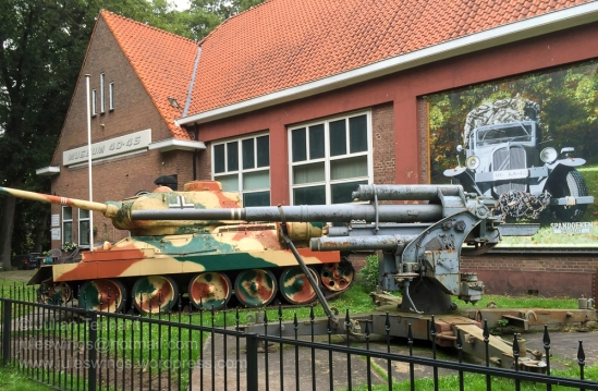 Arnhem Oorlogsmuseum 40-45. Arnhem War Museum. Photo: Julian Tennant