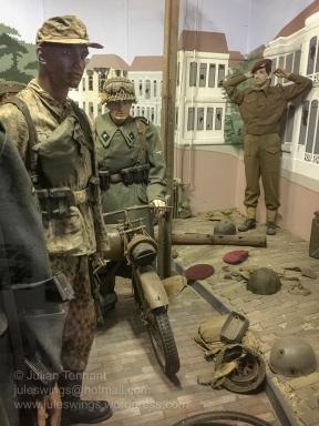 Arnhem Oorlogsmuseum 40-45. Arnhem War Museum 40-45.