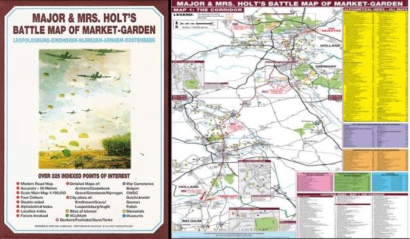 Major & Mrs. Holt's Battle Map of Market-Garden