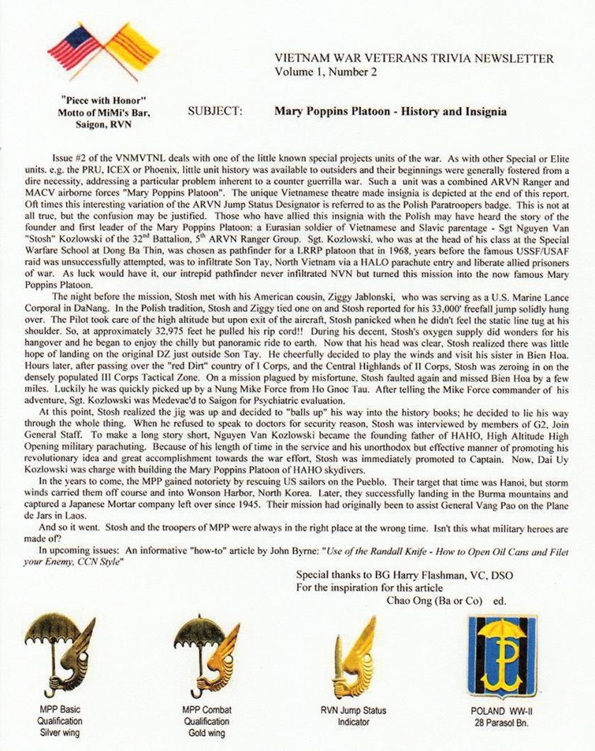 Mary Poppins VN newsletter