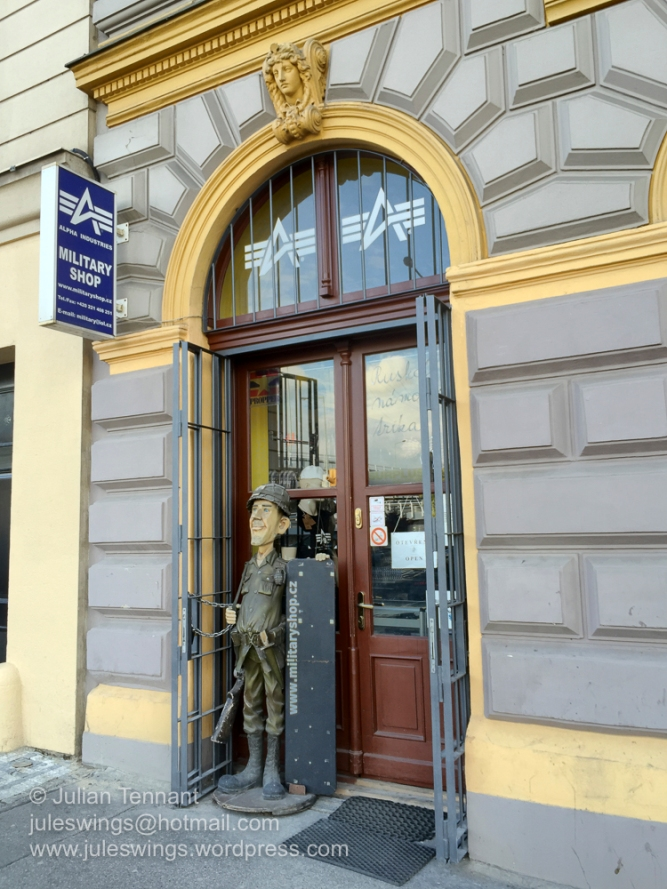 Prague Military Shop - Hybernska