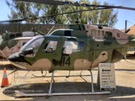 Bell 206B-1 Kiowa recon helicopter used by the Australian Army from 1972 - 2019. Photo: Julian Tennant