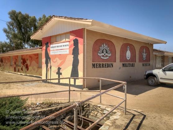 The Merredin Military Museum, Great Eastern Highway, Merredin, Western Australia. Photo: Julian Tennant