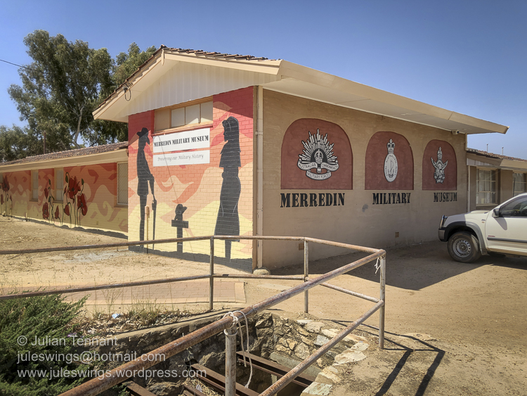 The Merredin Military Museum, Great Eastern Highway, Merredin, Western Australia. Photo: Julian Tennant