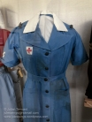 Uniform worn by nurses who served with the 2/1st Australian General Hospital in Merredin, 1942/3. Photo: Julian Tennant