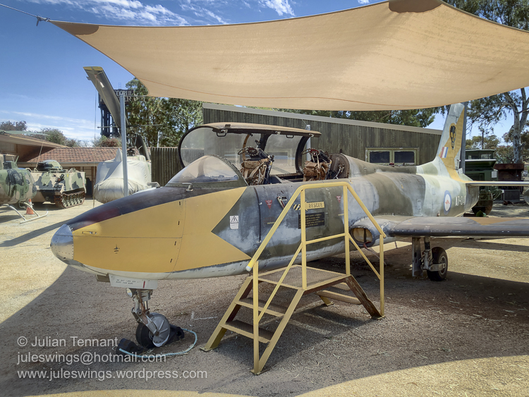 Commonwealth Aircraft Corporation (CAC) Aermacchi MB-326H (Macchi) jet. Photo: Julian Tennant