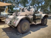 Officially designed 'Car, Armoured, Heavy,' but colloquially known by Australian crews as the 'Stag'. The Staghound Armoured Car entered service with the Australian Army in 1943, and the last of the vehicles were retired in the late 1960s. Photo: Julian Tennant