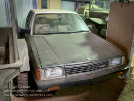 Toyota station wagon used by the Australian Army in the 1980's. Photo: Julian Tennant