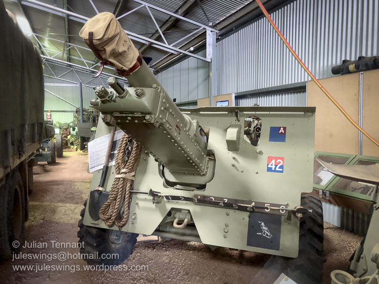 25 Pounder Gun on display at the Merredin Military Museum. Photo: Julian Tennant